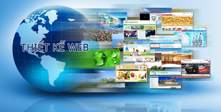 Công ty thiết kế web thiết kế giao diện ấn tượng