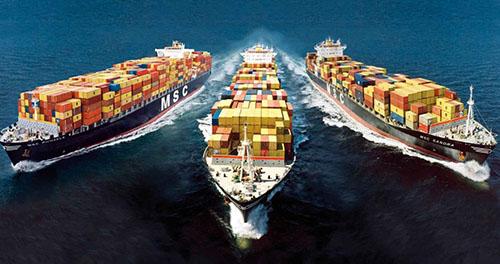 Dịch vụ vận tải hàng hóa bằng đường biển