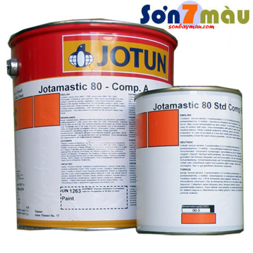 Sơn chống rỉ Jotun Jotamastic 80