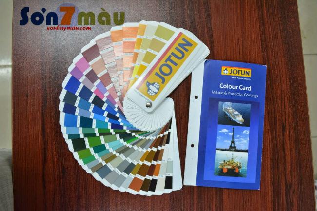 Bảng màu sơn Jotun trong nhà đẹp chuẩn
