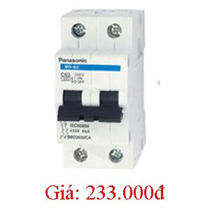 MCB 2P/20A 10kA BBD2202CA Panasonic